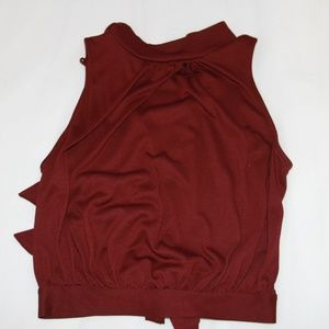 Red Burgundy RW & Co Top (xs)